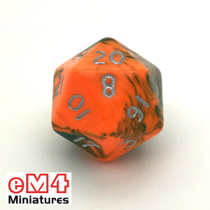 Toxic Chemical D20 Poly Dice