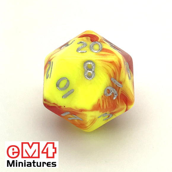 Toxic Ooze D20 Poly Dice