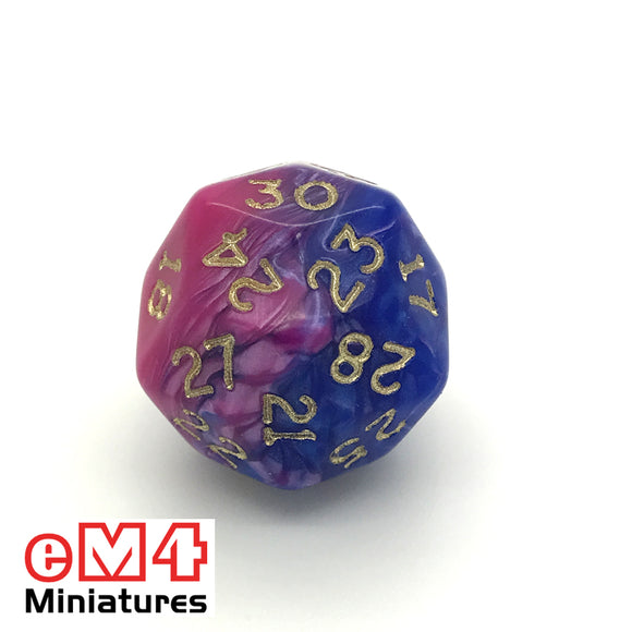 Toxic Acid D30 Poly Dice