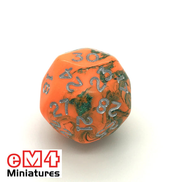 Toxic Chemical D30 Poly Dice