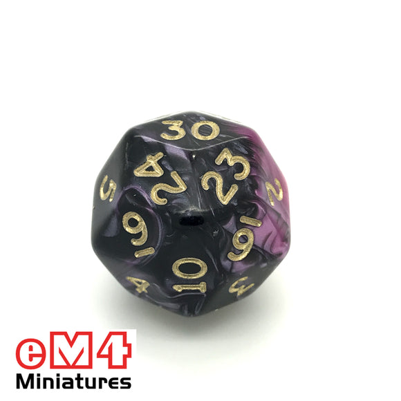 Toxic Fallout D30 Ploy Dice