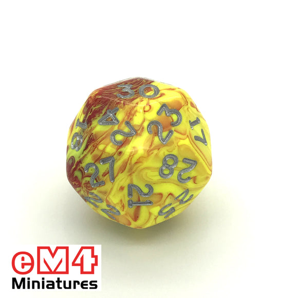 Toxic Ooze D30 Poly Dice