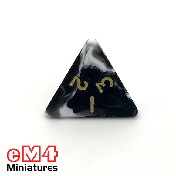 Marble Black D4 Poly Dcie