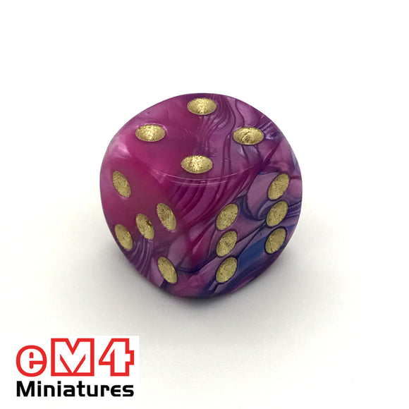 15mm D6 Toxic Acid Spot Dice x 10