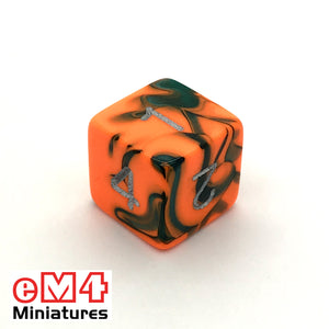 Toxic Chemical D6 Poly Dice