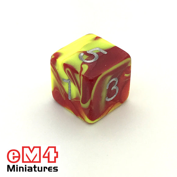 Toxic Ooze D6 Poly Dice