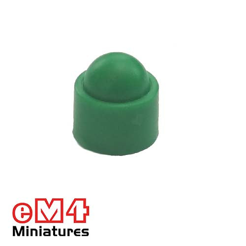 12mm Domed Counters-Green