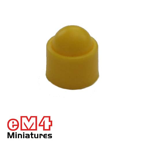 12mm Domed Counters-Yellow