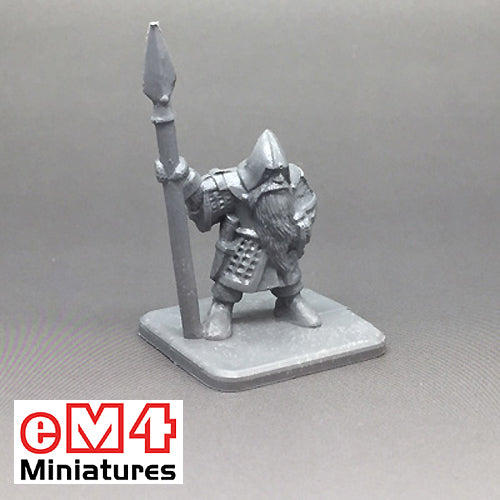 Dwarf With Spear