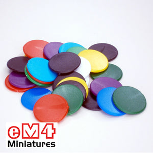 22mm Counters-Red