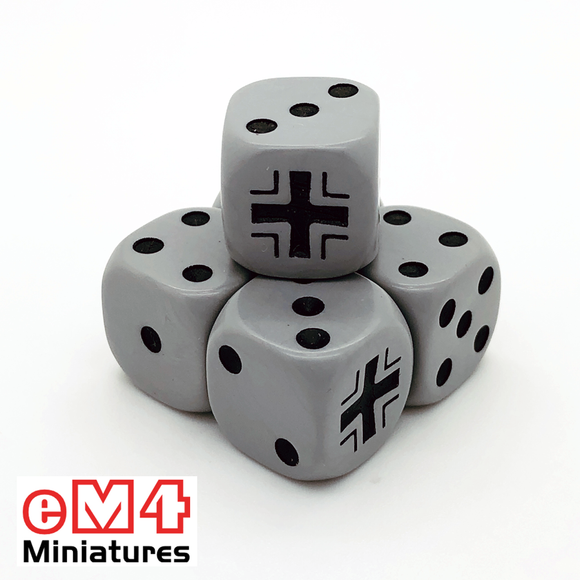 German Generic Dice x 6