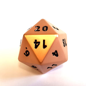 Jumbo D20 - Copper Finish