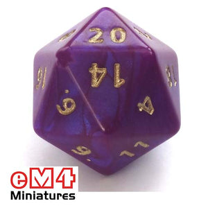 Jumbo D20 Int.-Purple