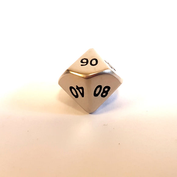 Mini D10 (00-90) - Brushed Steel
