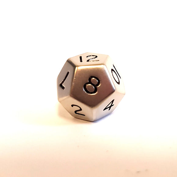 Mini D12 - Brushed Steel