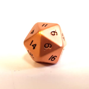 Mini D20 - Copper