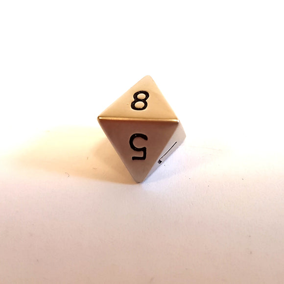 Mini D8 - Brushed Steel