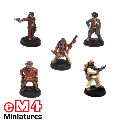 Old West Heroes Set1