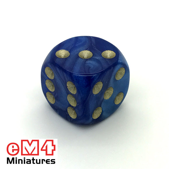 16mm Pearl-Blue