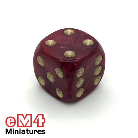 16mm Pearl-Red