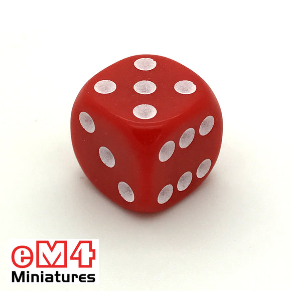 22mm Opaque-Red