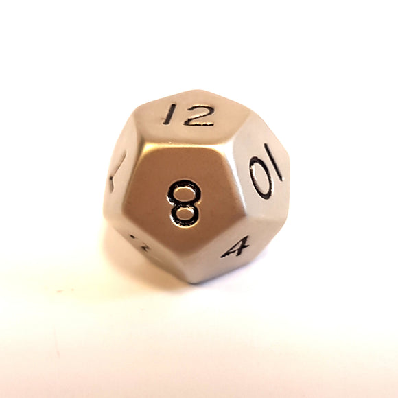 Standard D12 - Brushed Steel