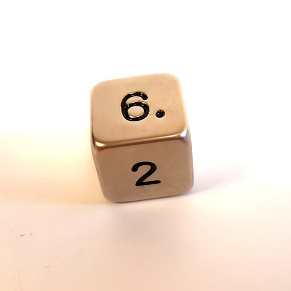 Standard D6 - Brushed Steel