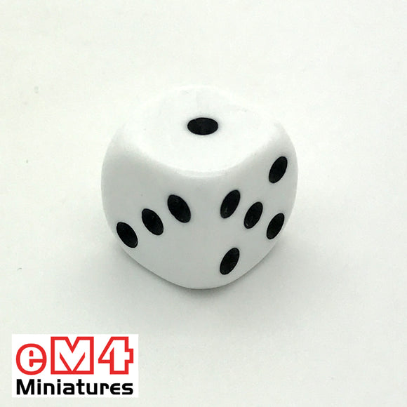 14mm Opaque-White