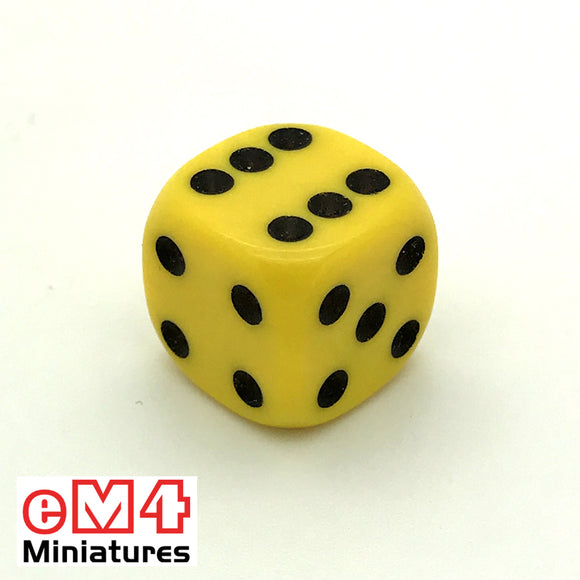 16mm Opaque-Yellow