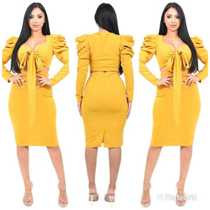 NuNu PUFF SLEEVE 2 PIECE SET