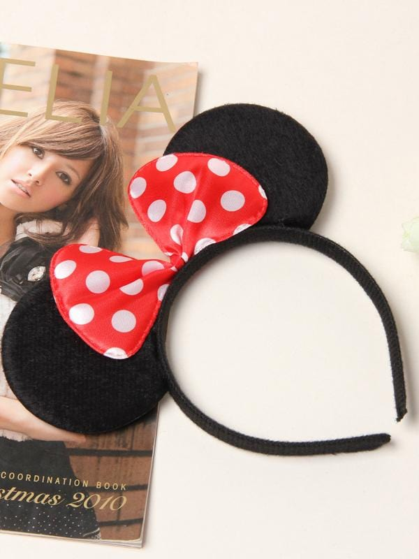 Mickey Mouse Black Ear Children's Headband Hair Accessories