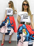 Wonder Woman overskirt