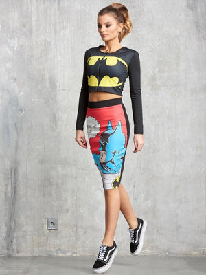 Batman Zipper Short Coat