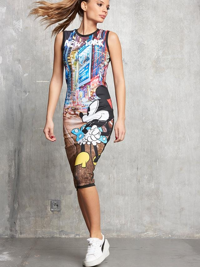 Mickey's New York Nights Individuality Fashion Dress