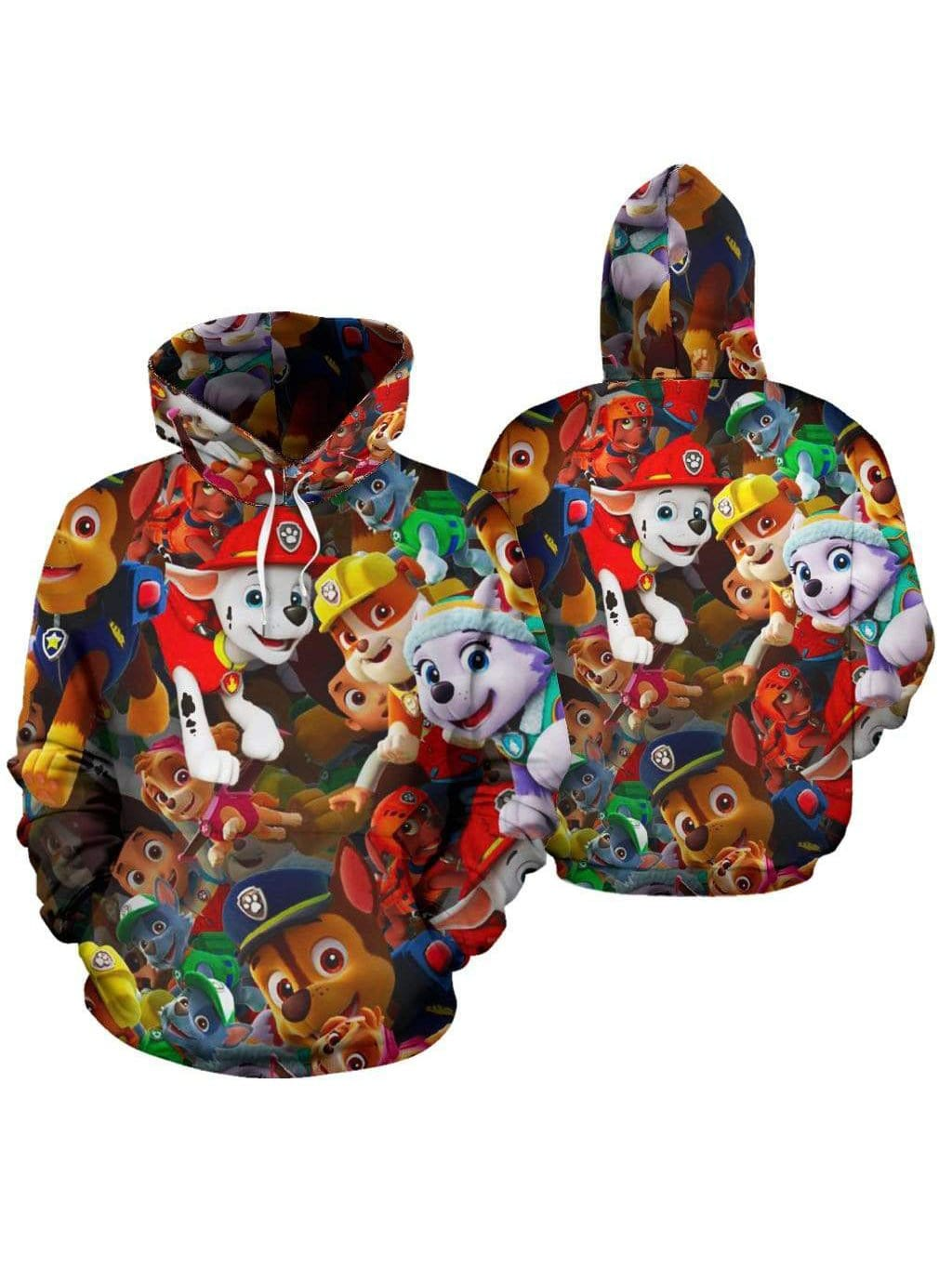 Mickey Mouse Christmas Hoodie With Long Sleeves