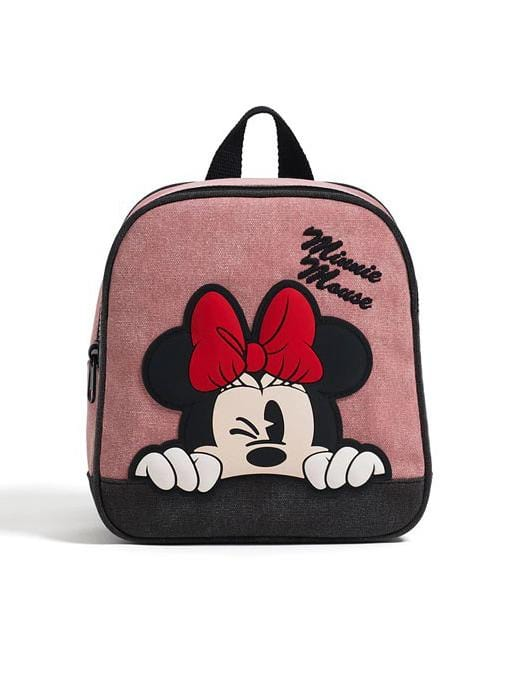 Mickey Mouse Canvas Children's Cute Backpack