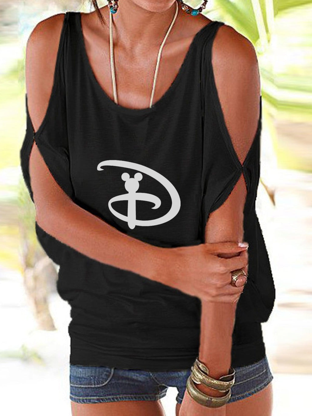 Disney Strapless T-Shirt