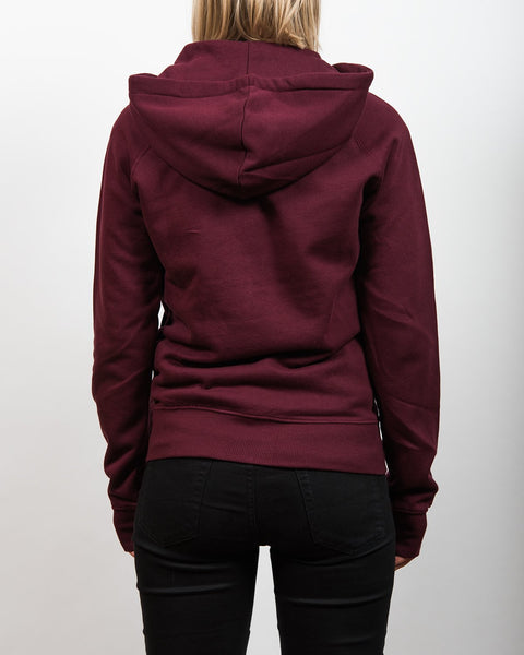 No Place For Intolerance Zip-Up Hoodie Red