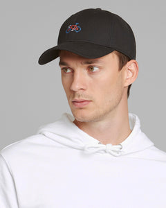Sport Cap Stitch Bike Black