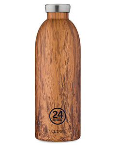 Clima Bottle Sequoia Wood, 850 ml