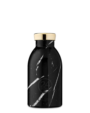 Clima Bottle Black Marble, 330 ml