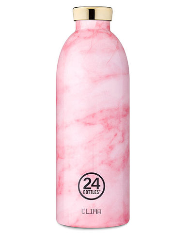 Clima Bottle Pink Marble, 850 ml