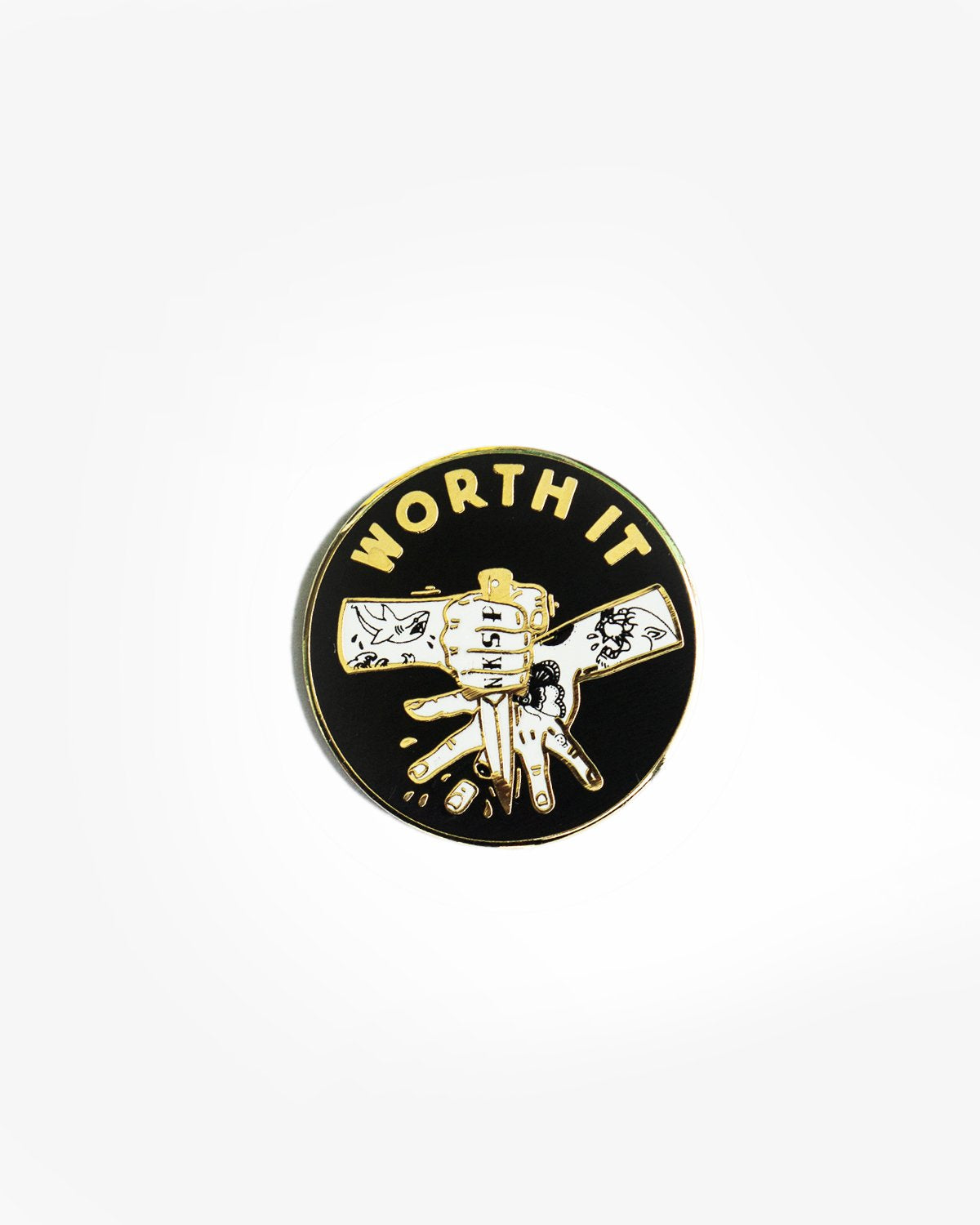 Worth It Pin