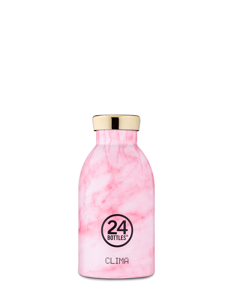 Clima Bottle Pink Marble, 330 ml