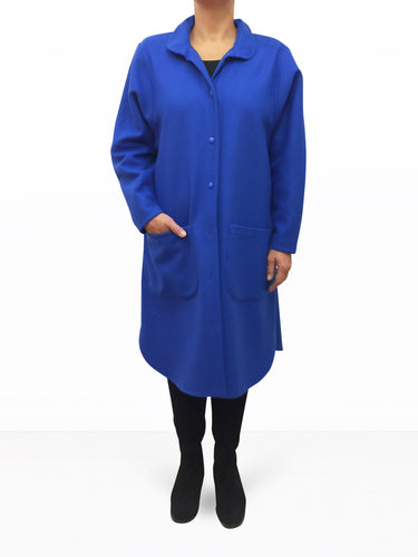 Wool Coat Blue
