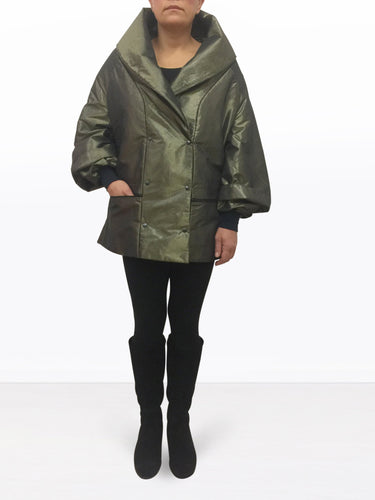 WRAPJACKET THINSULATE green shine