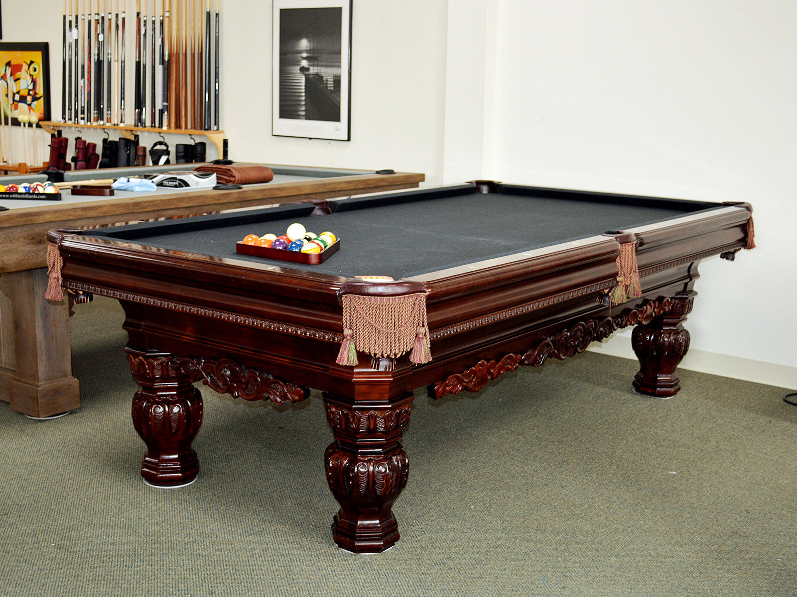Olhausen vs Brunswick Pool Tables