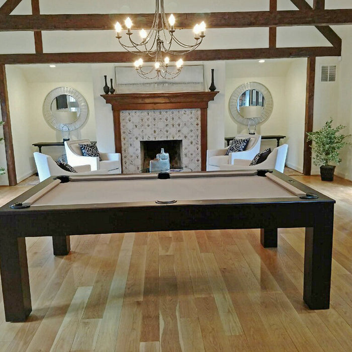Robbies Dining Pool Table installed in Bethesda Maryland