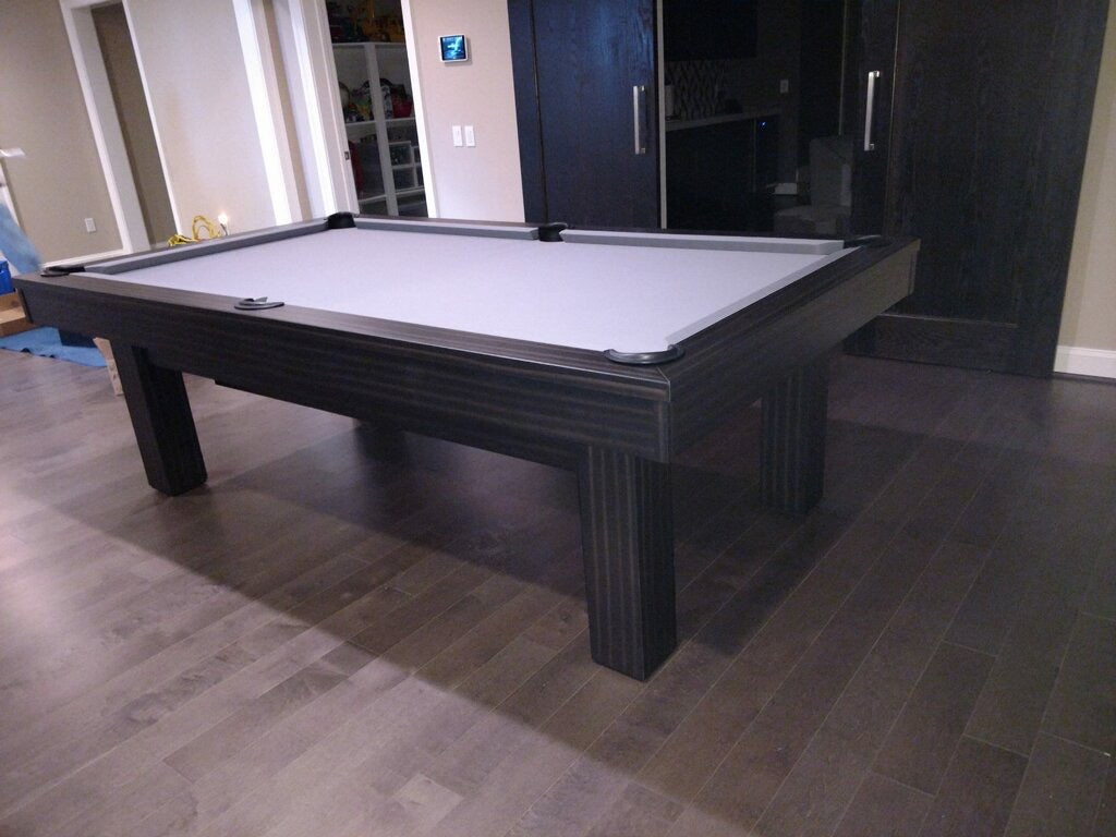 Olhausen West End Pool Table installed in Bethesda Maryland