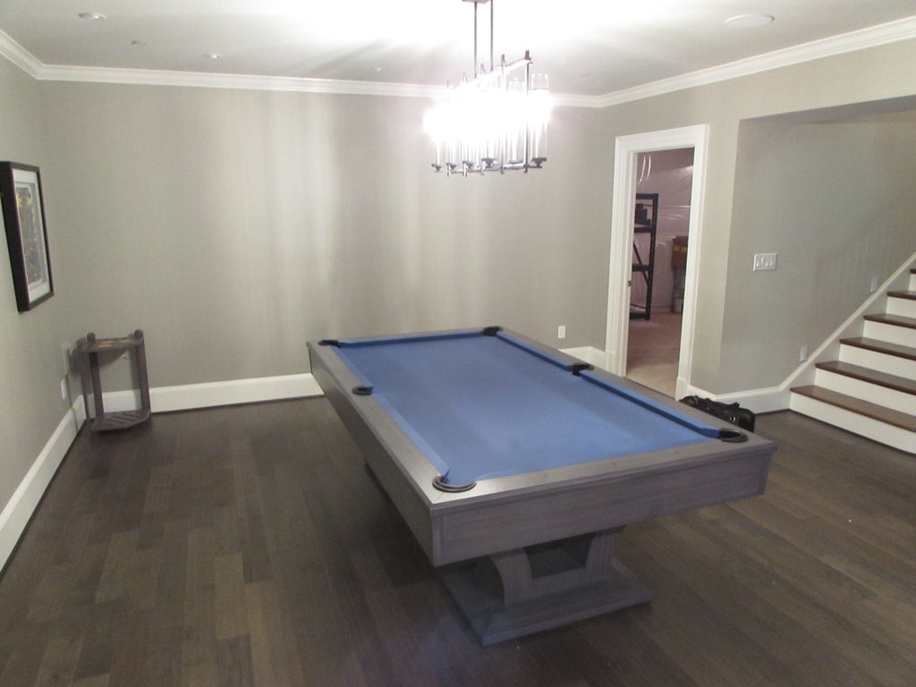 Olhausen Alexandria Pool Table installed in Leesburg Virginia